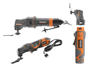 Ridgid   Oscillating and Cutoff Tool Parts
