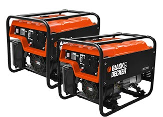 Black and Decker   Generators Parts