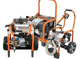 Ridgid   Pressure Washer Parts