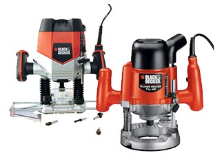Black and Decker   Routers Parts