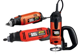 Black and Decker   Rotary Tools Parts