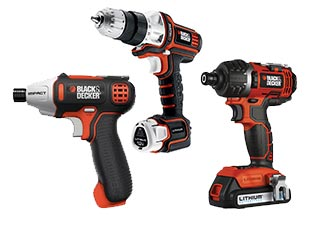 Black and Decker   Impact Driver