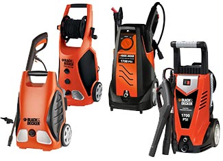 Black and Decker   Pressure Washer Parts