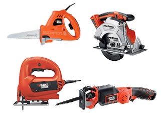 Black and Decker   Saw Parts