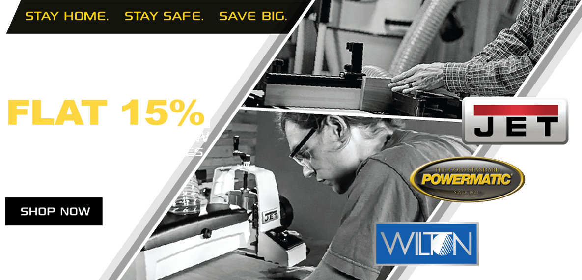 15% off on all JPW Toolparts & Accessories