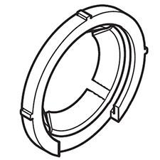 Makita 424480-0 FITTING RUBBER, DX01Image