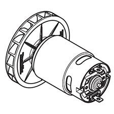 Makita 141163-4 MOTOR CPL., DX01Image
