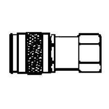 "Makita YY311018-A ""Universal Air Coupler 1/4"""" x 1/4"""" Female""Image"