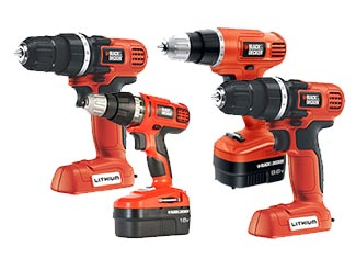 Black and Decker  Drill & Driver Parts Cordless Drill & Driver Parts