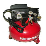 Porter Cable  Air Compressor Parts Porter Cable CFBN125A-Type-3 Parts