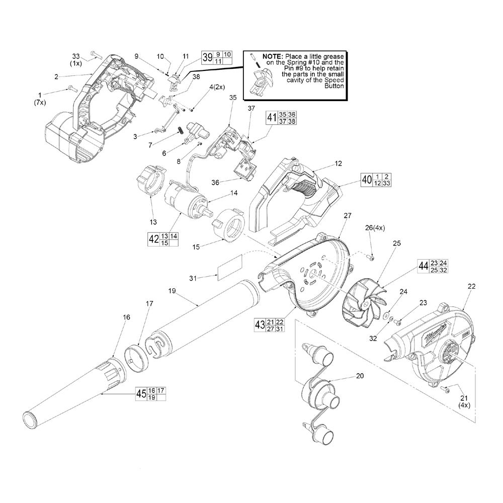 31 Fein Vacuum Parts Diagram