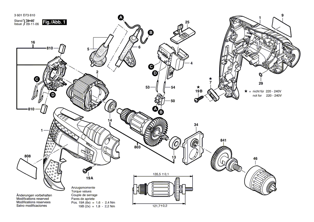 bosch 1006vsr parts list