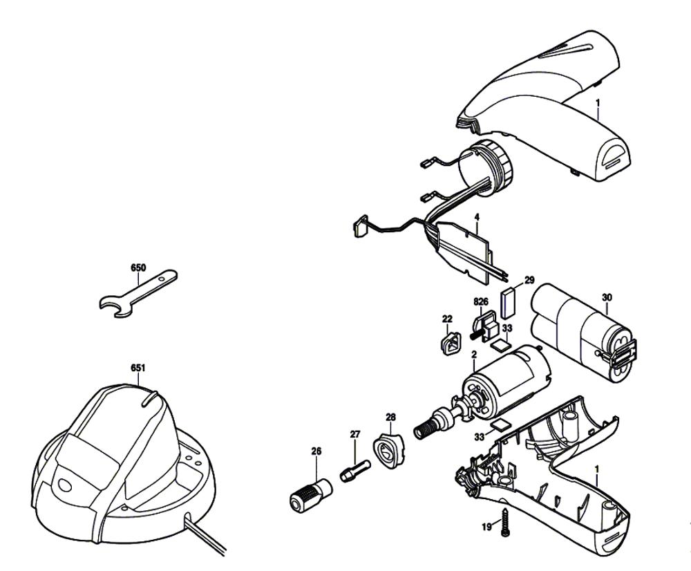 Dremel Tool Parts Diagram | Dremel 1100 F013110047 Parts List Dremel 1100 F013110047