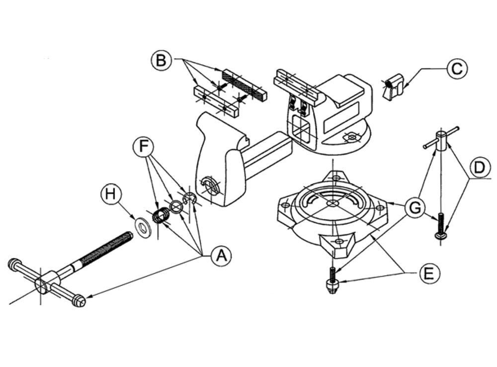 29 Wilton Vise Parts Diagram