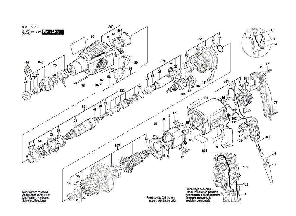 Bosch Parts 1619P06107 Dust Cap