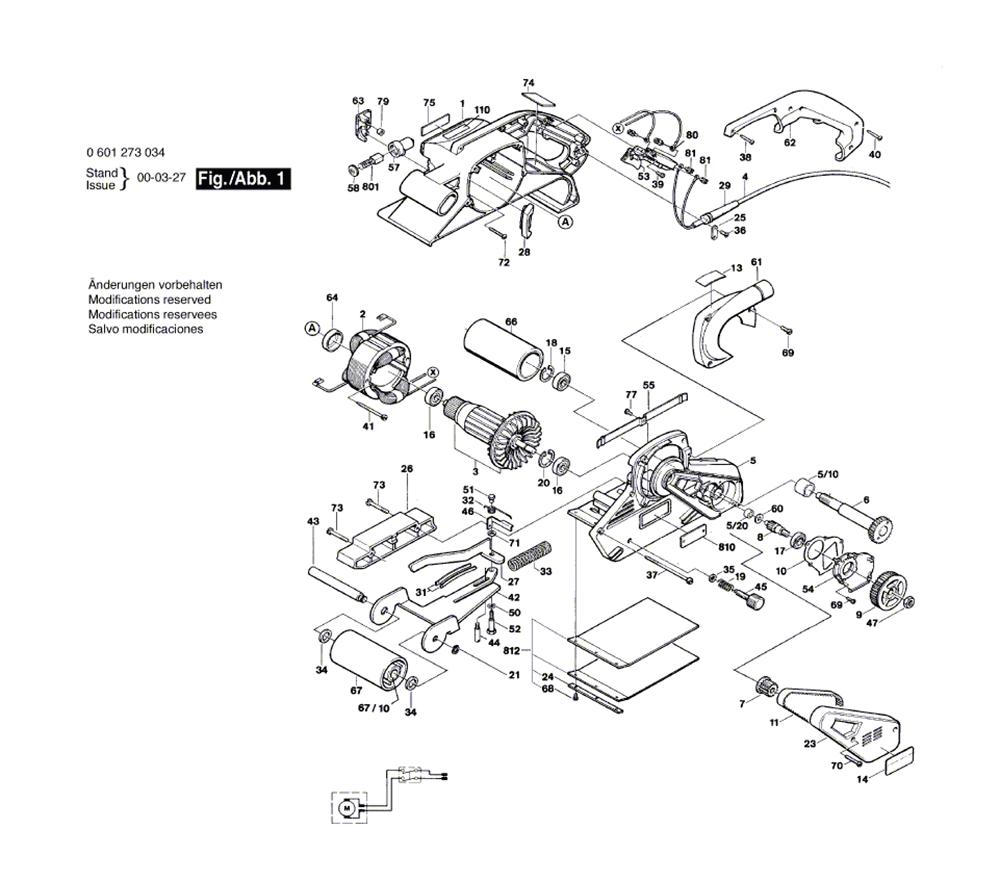 Bosch Parts 2610967533 Warning Label