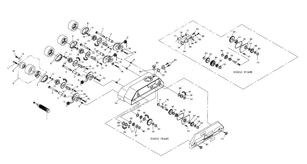 powermatic 1790811k parts list