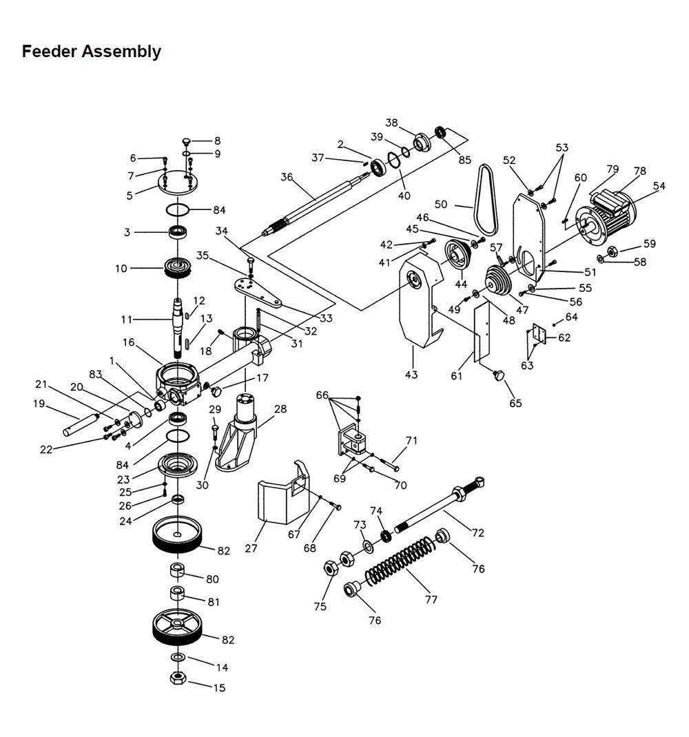 powermatic 1790820 parts list