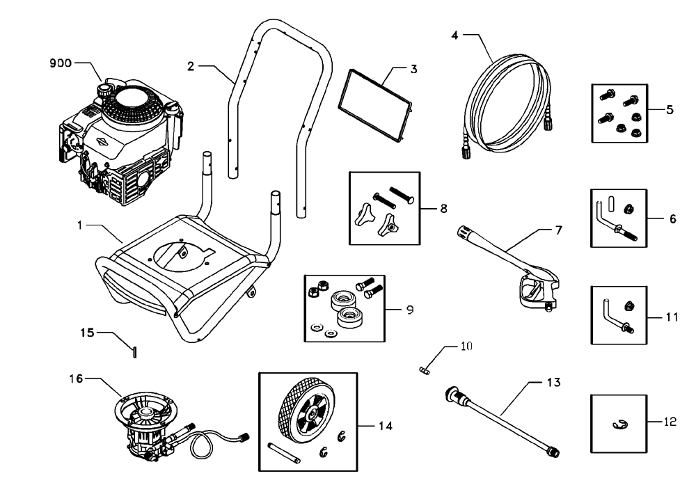 briggs and stratton parts names pictures to pin on