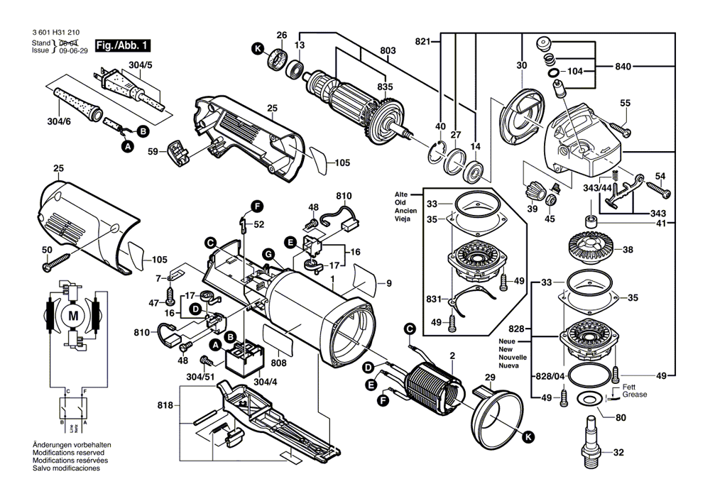 bosch 1810psd parts list