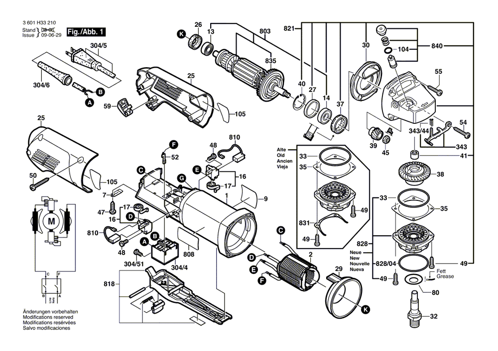 bosch 1812psd parts list