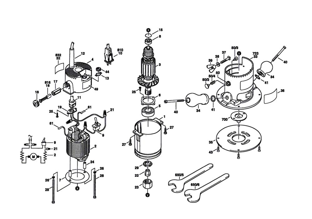 Bosch 19052 0601905239 Parts List