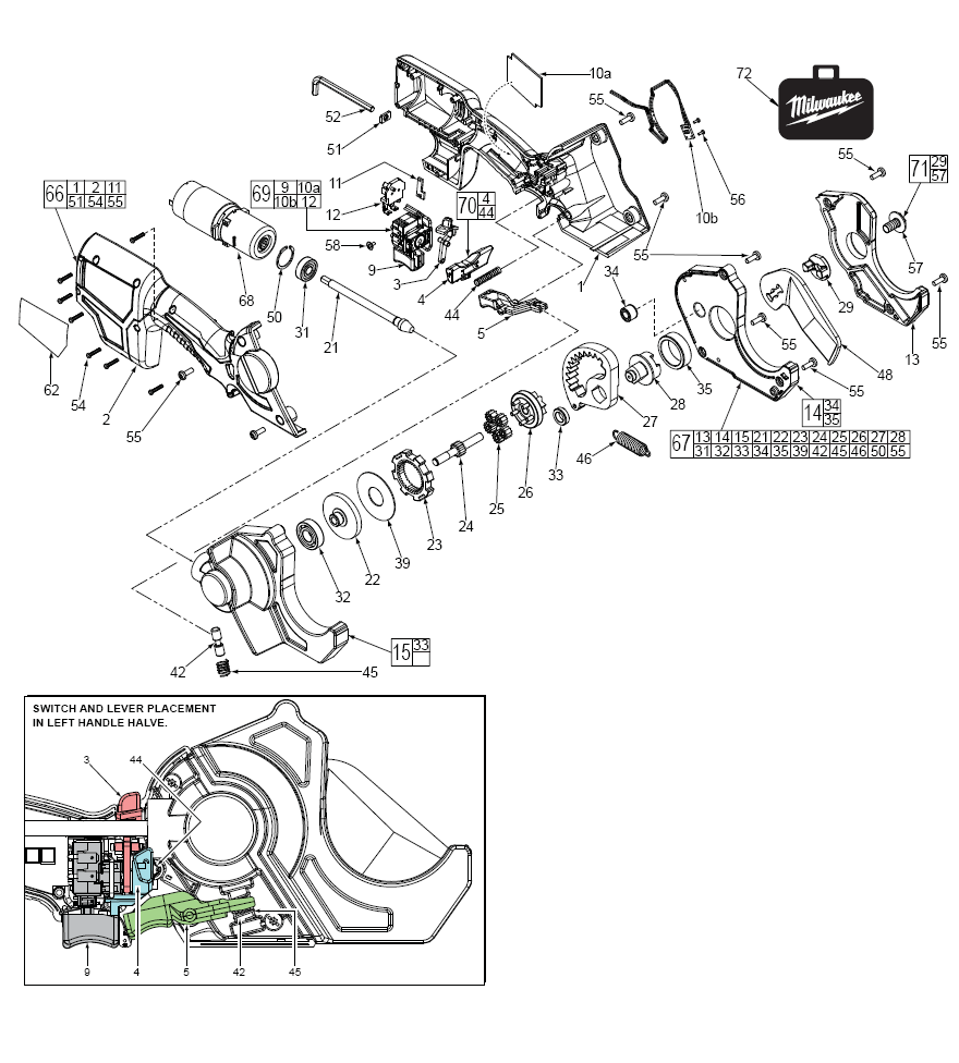 Keurig 20 Parts Diagram