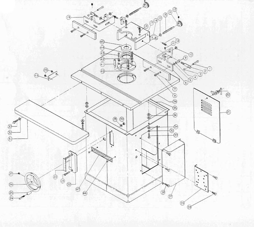 Powermatic 26 Parts List   Powermatic 26 Repair Parts   OEM Parts