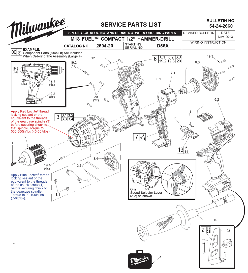 ridgid drill wiring diagram ridgid automotive wiring diagrams 2604 20 %28d56a%29 milwaukee pb
