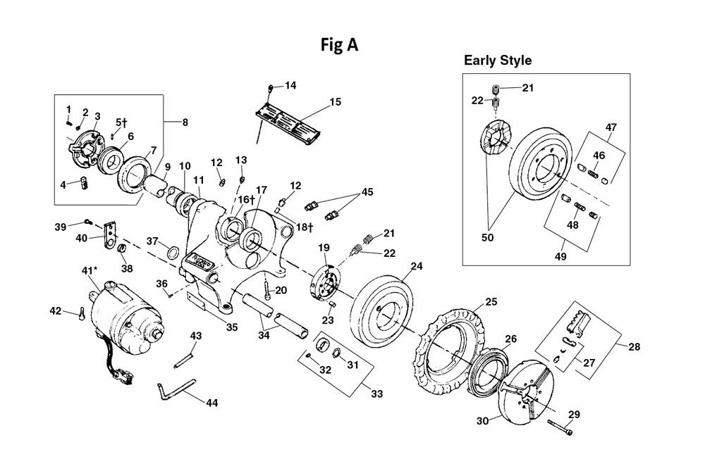 ridgid 300 parts list