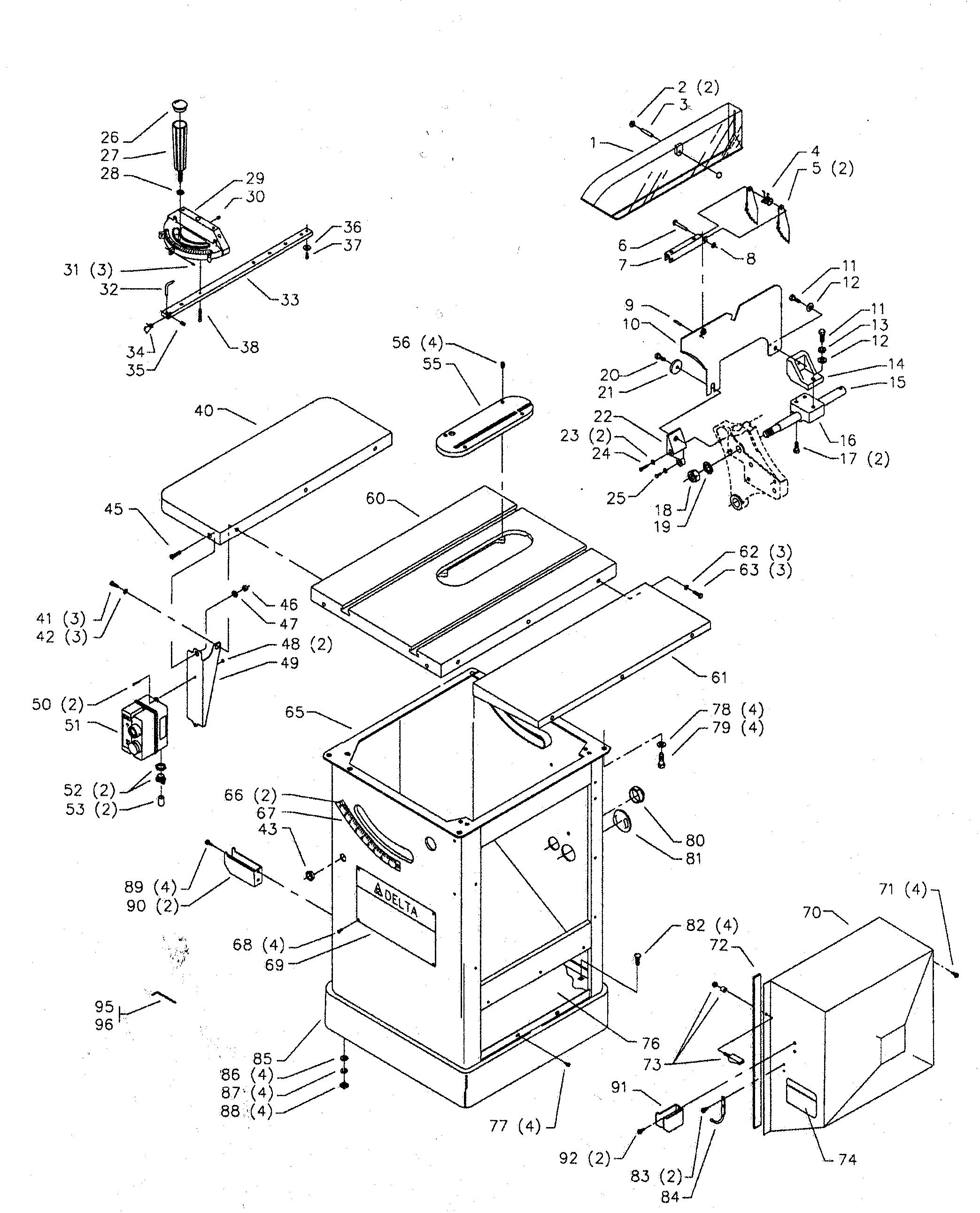 Delta 422041320002 Tilt Scale