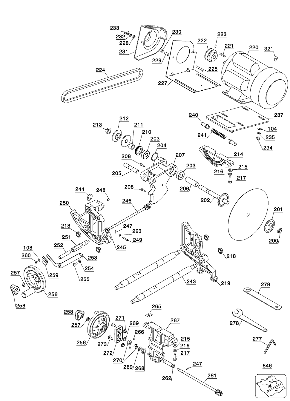 delta saw 28 640 wiring diagram