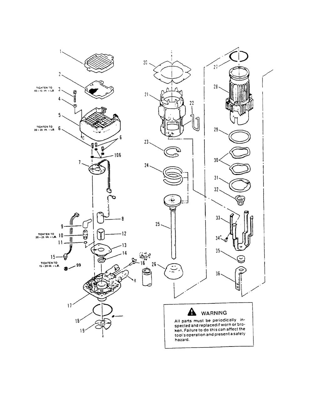 Paslode Framing Nailer Parts Diagram Atkinsjewelry