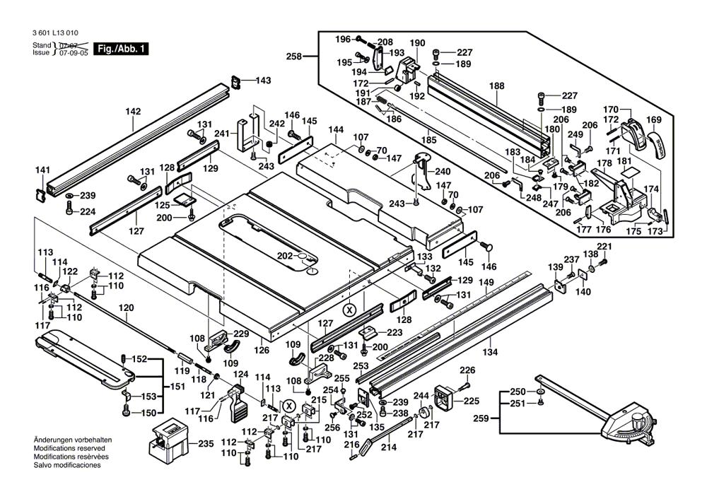 bosch 4100 parts list bosch 4100 repair parts oem. Black Bedroom Furniture Sets. Home Design Ideas