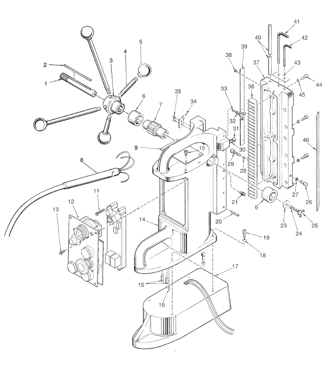 Milwaukee Magnetic Drill Wiring Diagram