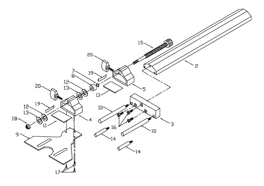 Porter Cable 42690 Type 1 Parts List