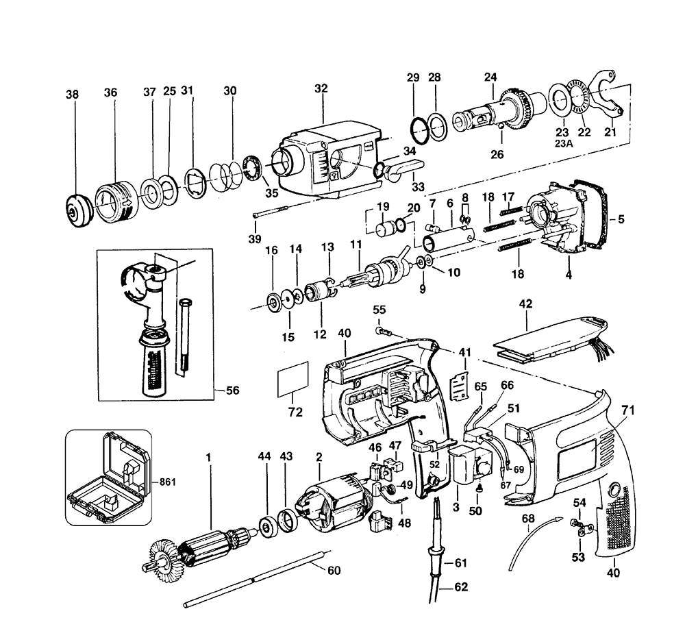 Ingersoll Rand Drill Diagram Ir T4 Drill Elsavadorla