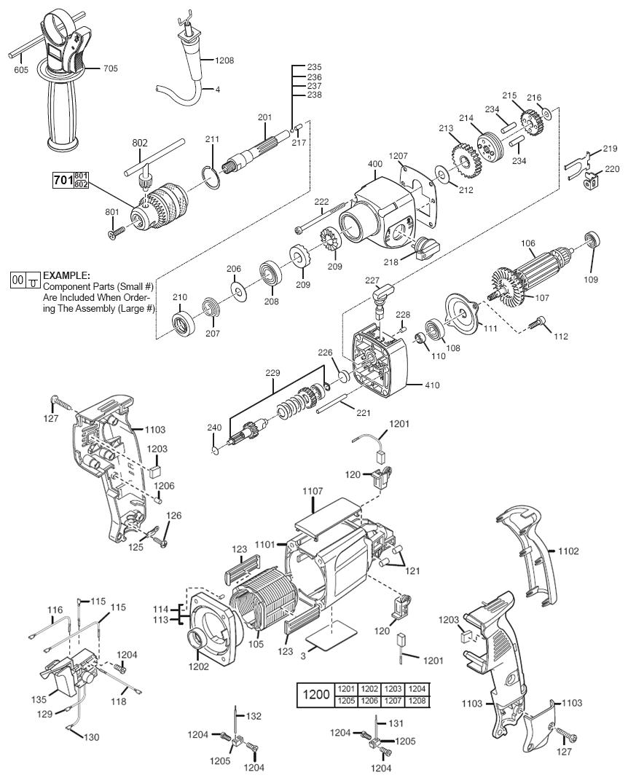 milwaukee 5380 21 parts list milwaukee 5380 21 repair parts oem parts with schematic diagram