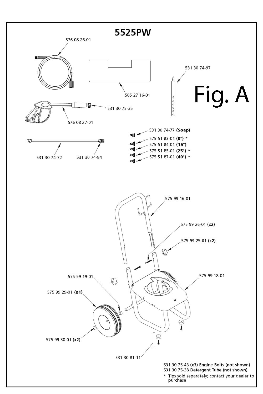 Husqvarna 5525pw I080730 Parts List Engine Diagram Schematic