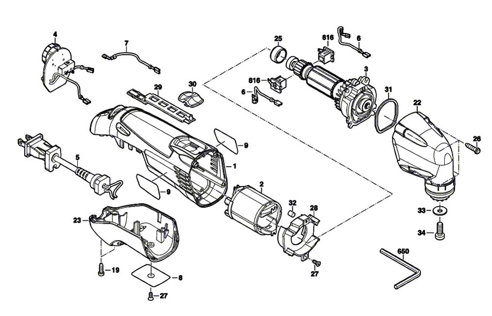 Tool Replacement Parts : Dremel f  parts list