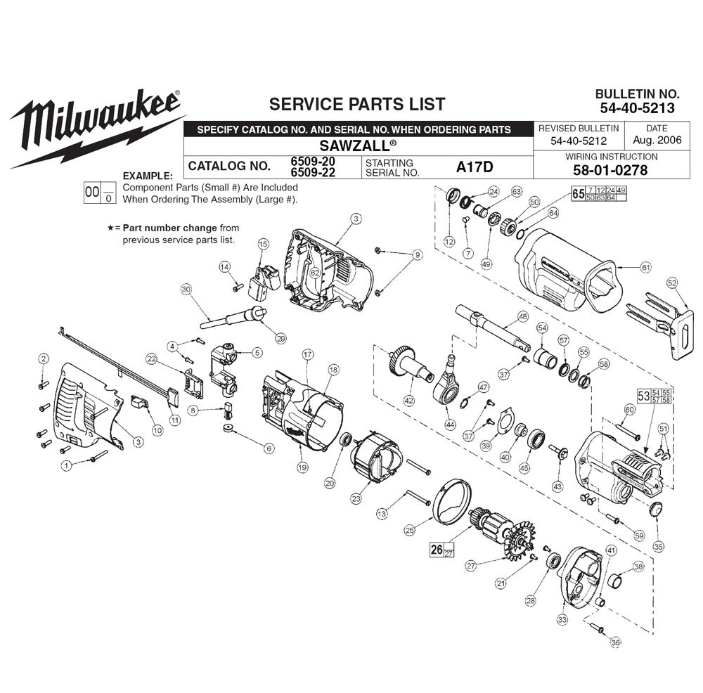 Milwaukee 6509
