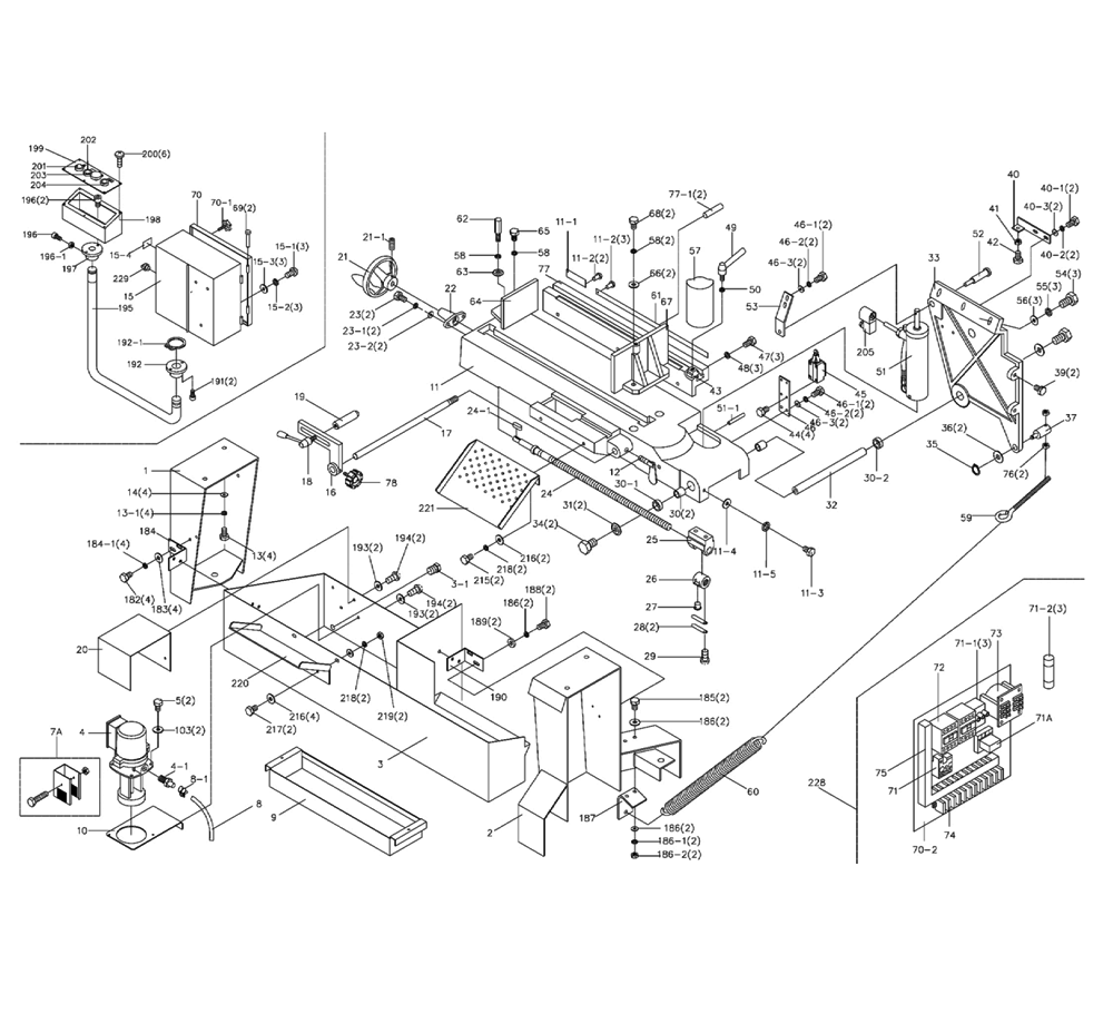 Wilton 7020 Parts List Repair Oem With Vise Diagram Schematic