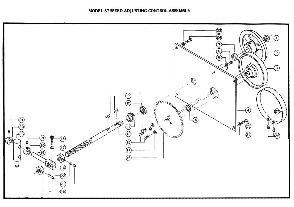 Powermatic 87 Parts List