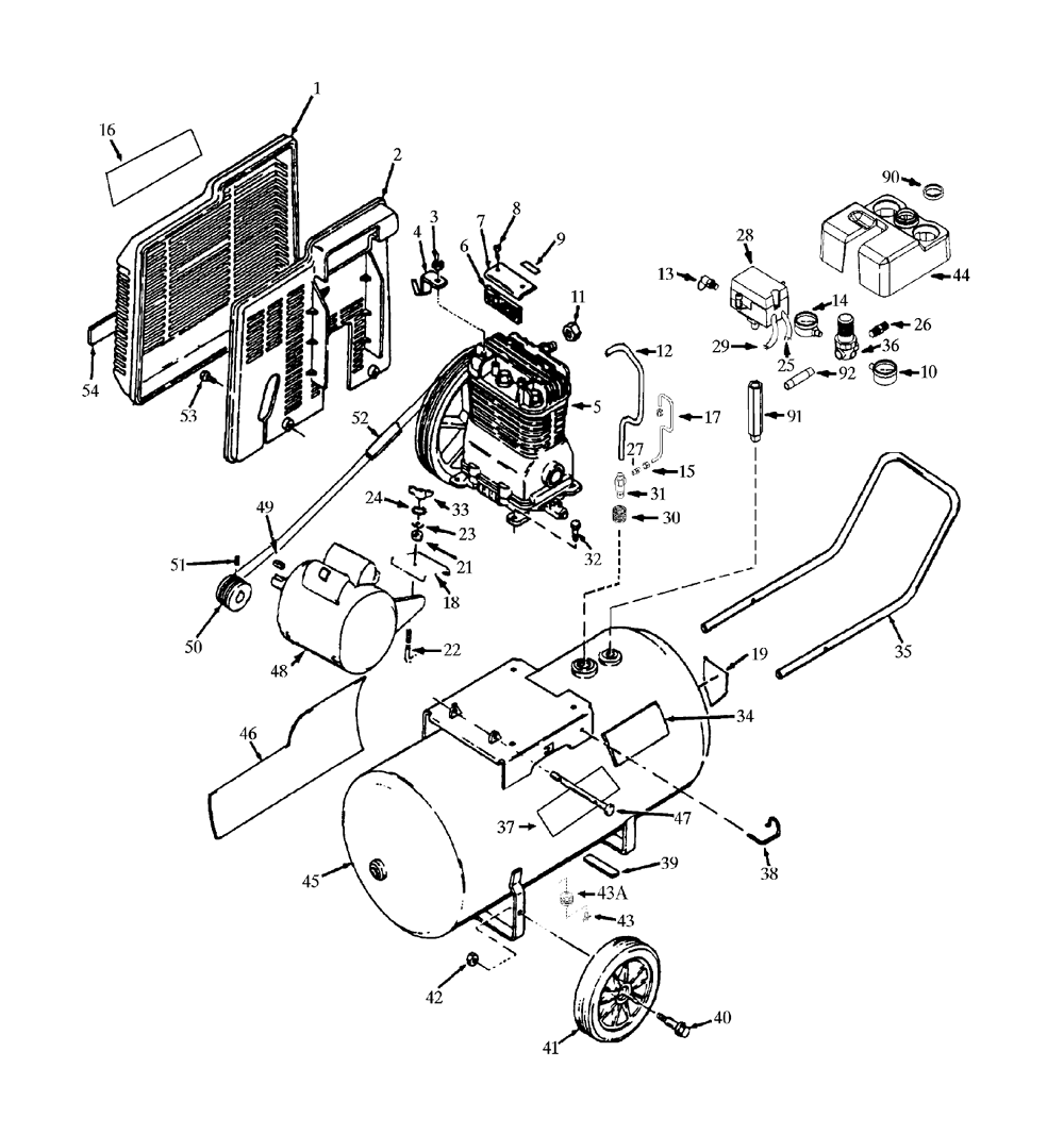 air compressor parts diagram 3 phase pressure switch wire diagram ZX9 Wiring-Diagram at Htdx100em Wiring Diagram Filetype Pdf