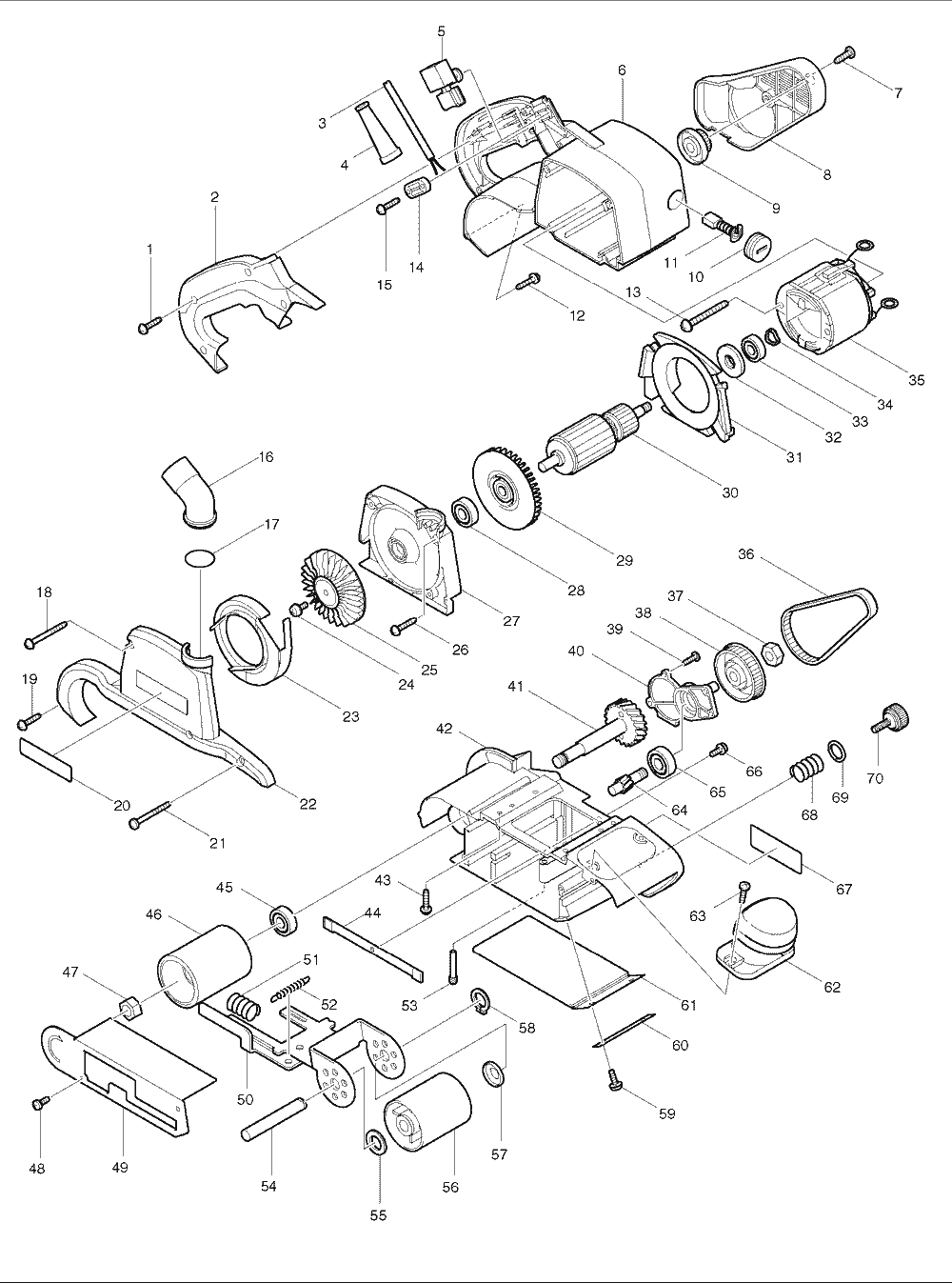 Makita 9921 Parts List Repair Oem With Chicago 7 Polisher Wire Diagram Schematic
