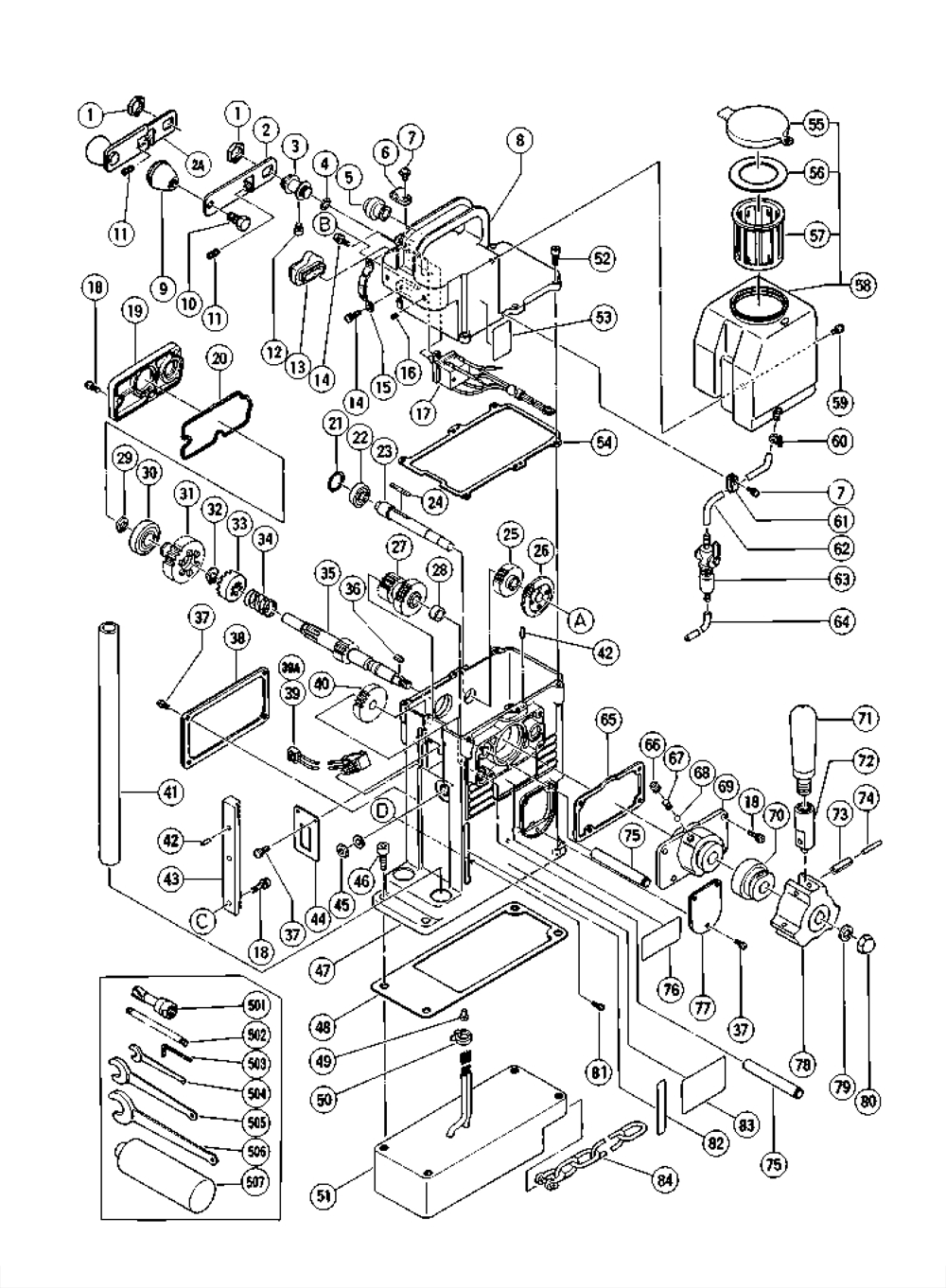 hitachi gsb107 wiring diagram