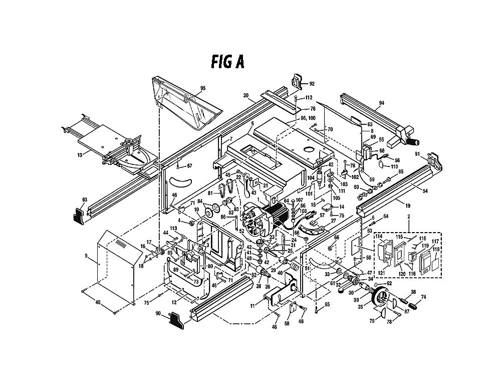 Ryobi Bt3000 Parts List