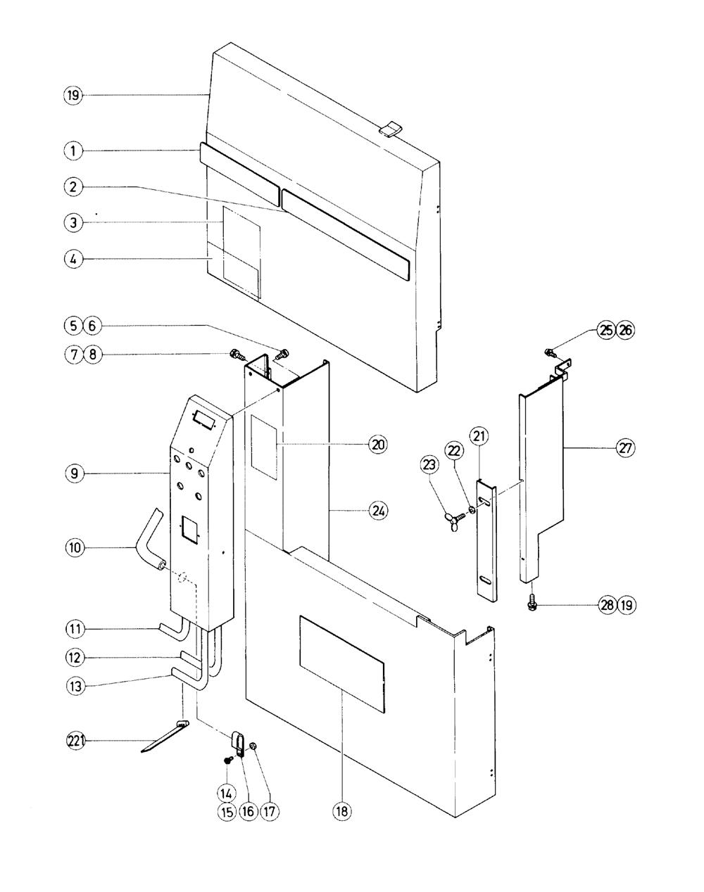 Hitachi Cb100fa Parts List Repair Oem Washing Machine Wiring Diagram Schematic