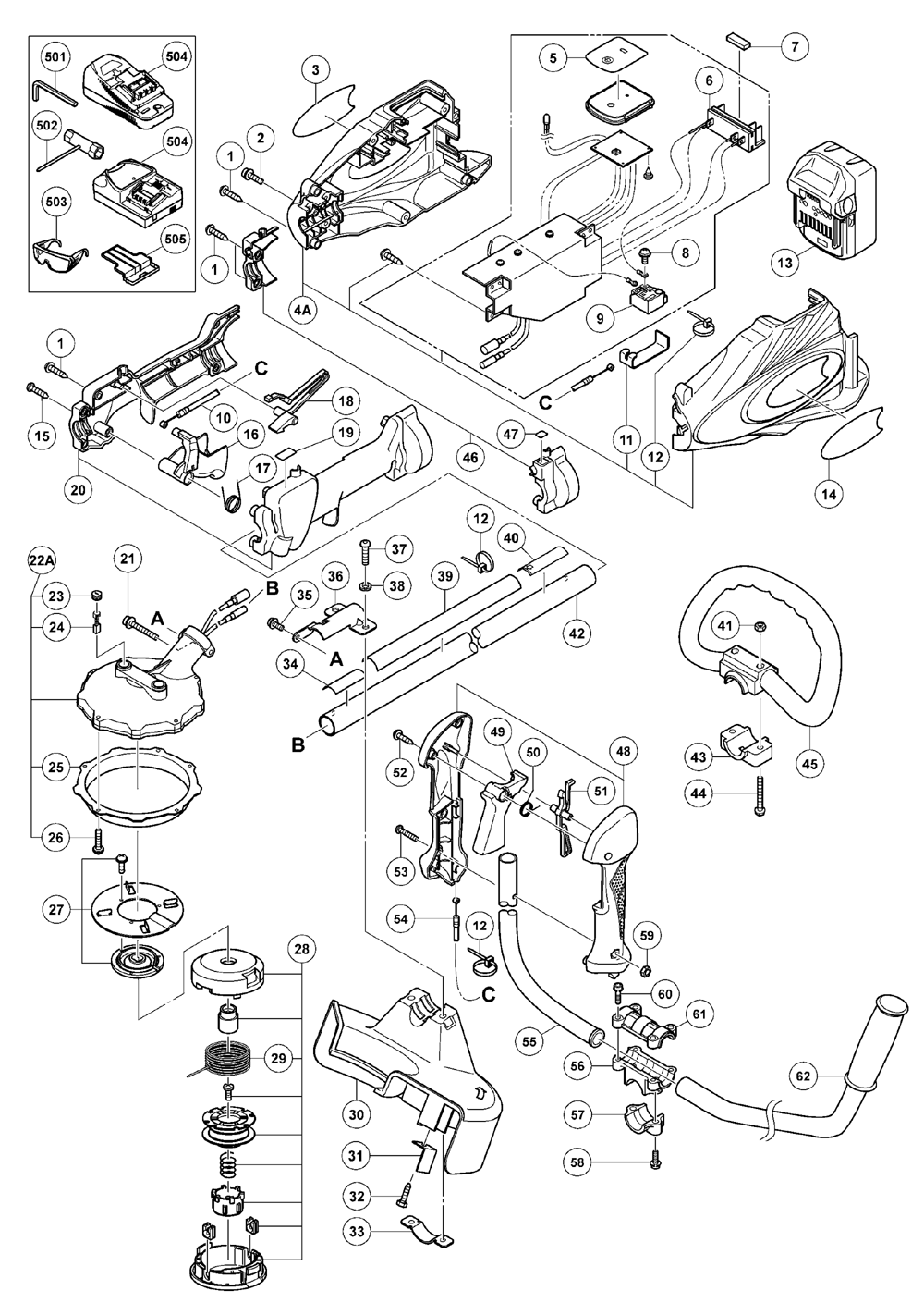 hitachi cg18dsdl parts list