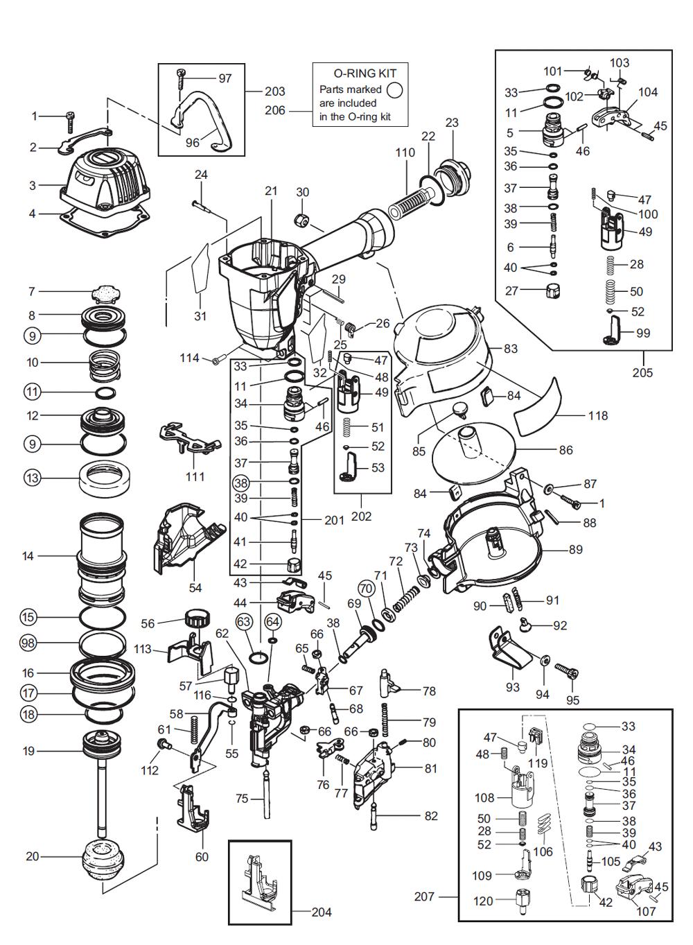 Max Cn445r2 Parts List